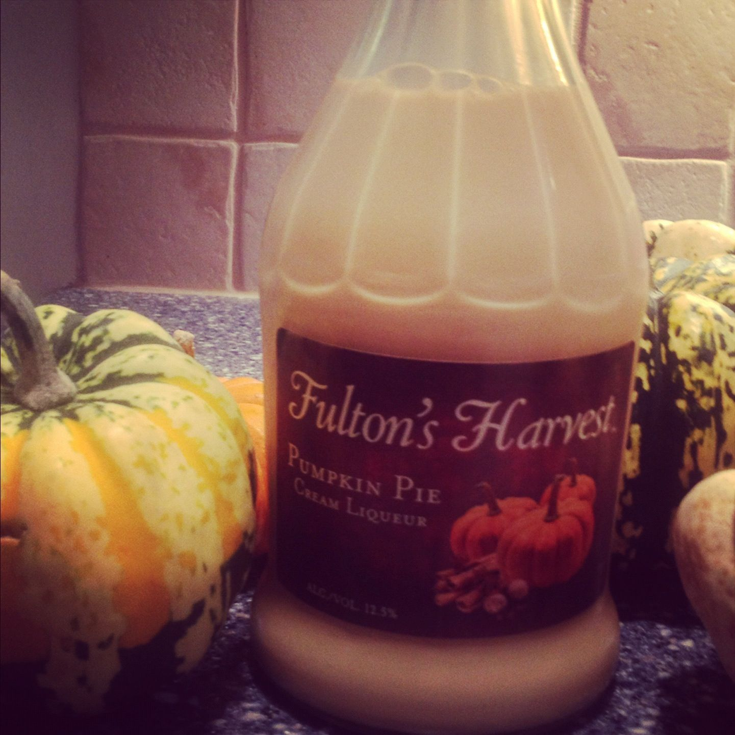 Fulton's Pumpkin Harvest Liquor...YUM! CHEERS! Thanks Jen C for suggesting this! I'm in pumpkin heaven!!!!