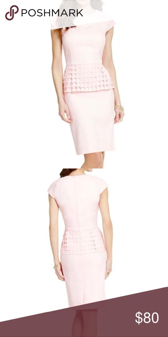 c60b3d3649 NWOT Antonio Melani Pink Peplum Dress Gorgeous blush pink peplum dress 💕  removed tags but never wore ANTONIO MELANI Dresses