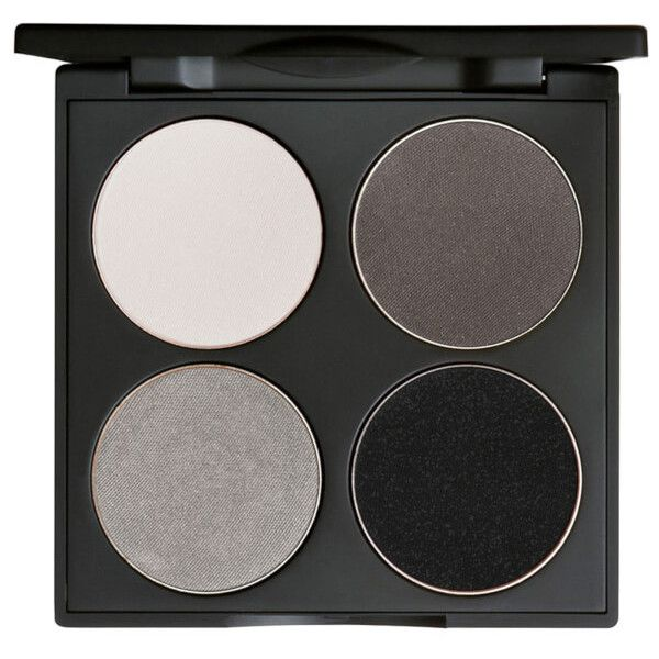 Gorgeous Cosmetics Custom Eyes 4 Pan Eye Shadow Palette Smokey Eyes... (250 SEK) ❤ liked on Polyvore featuring beauty products, makeup, eye makeup, eyeshadow, fillers, beauty, palette eyeshadow and gorgeous cosmetics