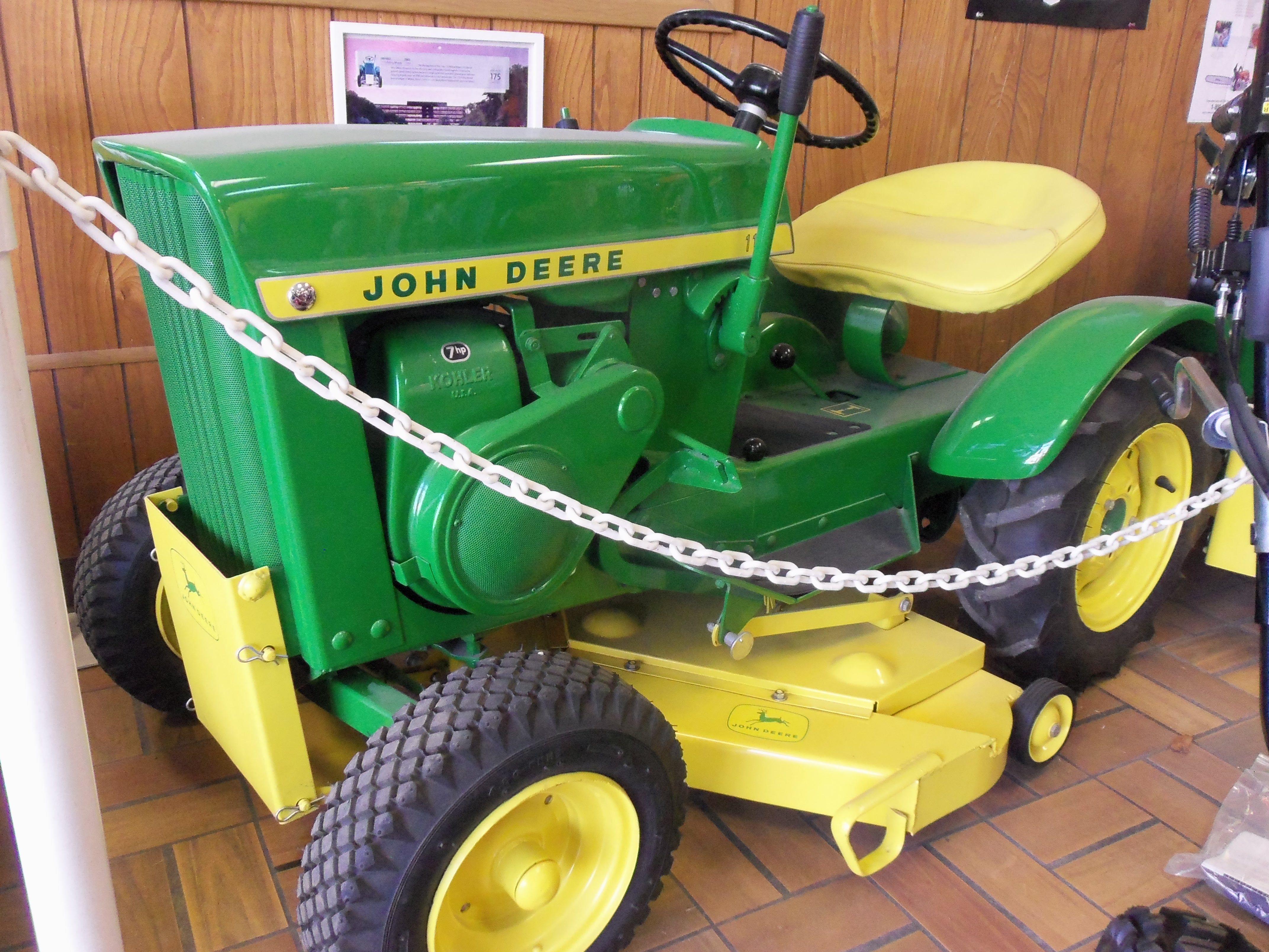John Deere 110 Garden Tractor Attachments : John deere garden tractor parts fasci