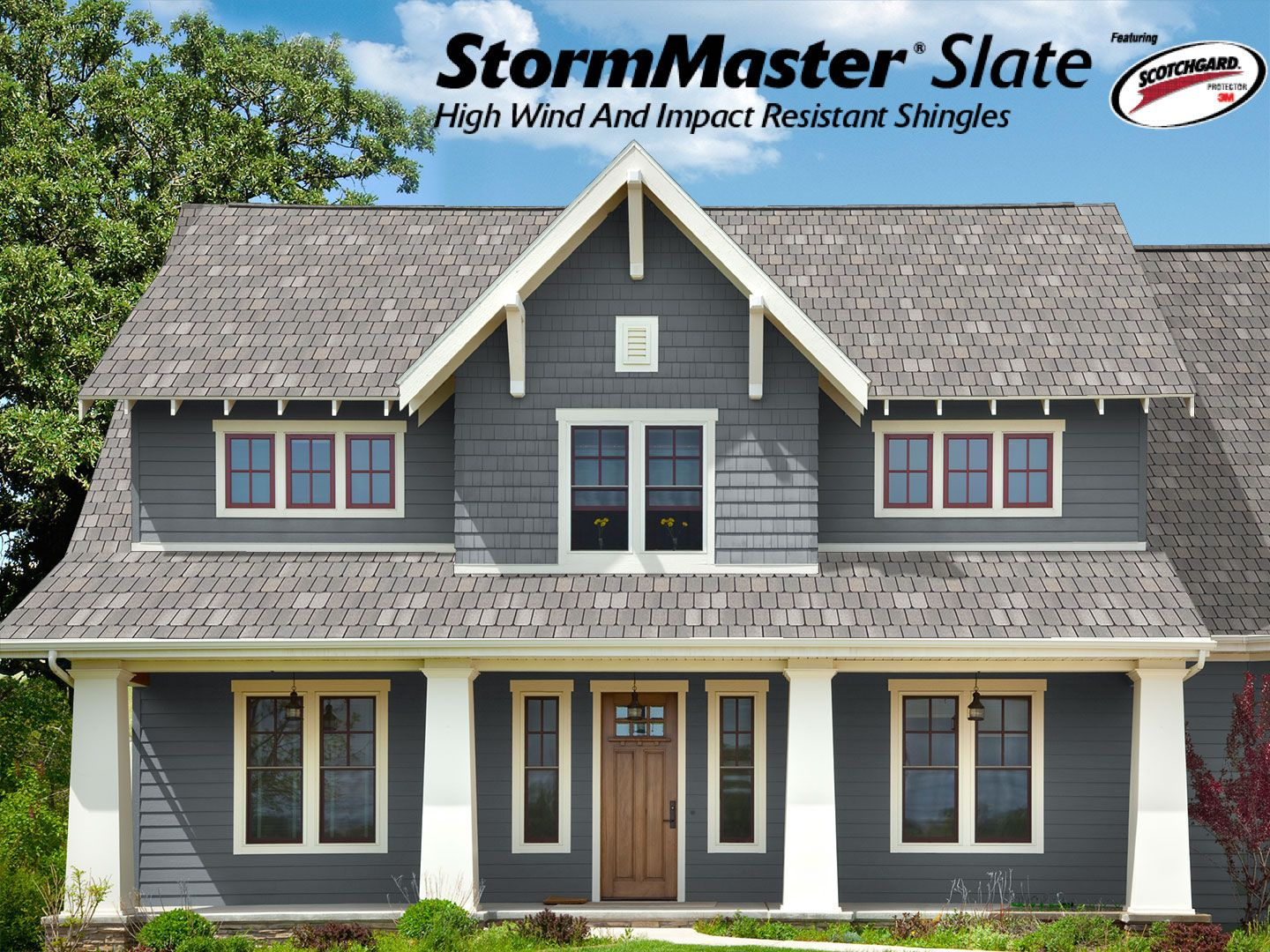 Pin On Stormmaster Slate Roofing Shingles