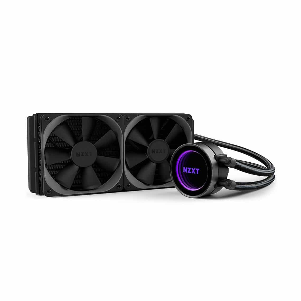 Nzxt Kraken X52 All In One 240mm Cpu Liquid Cooling System