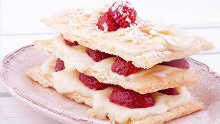 ميل فوي بالفراولة Recipe Desserts Tasty Food
