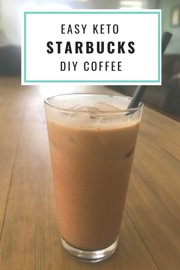 Keto Starbucks Iced Mocha Easy DIY Recipe