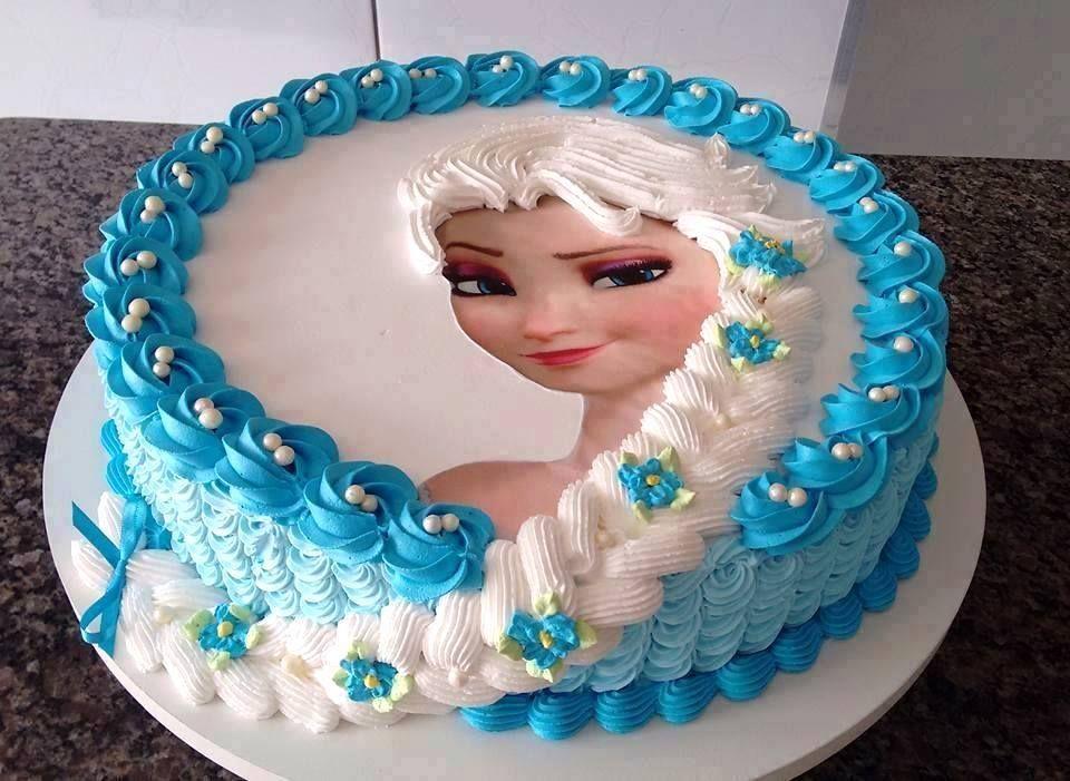 vu le succès du gâteau de la reine des neiges sur notre page