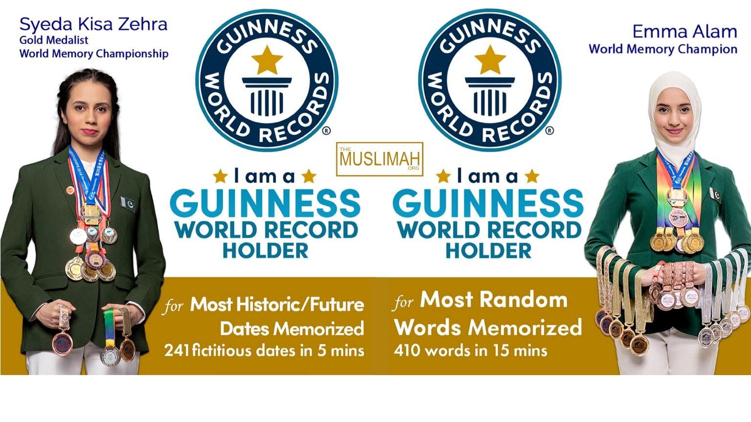 Pakistani girls beat India, Sweden at three Guinness World Records | Emma Alam | Syeda Kisa Zehra