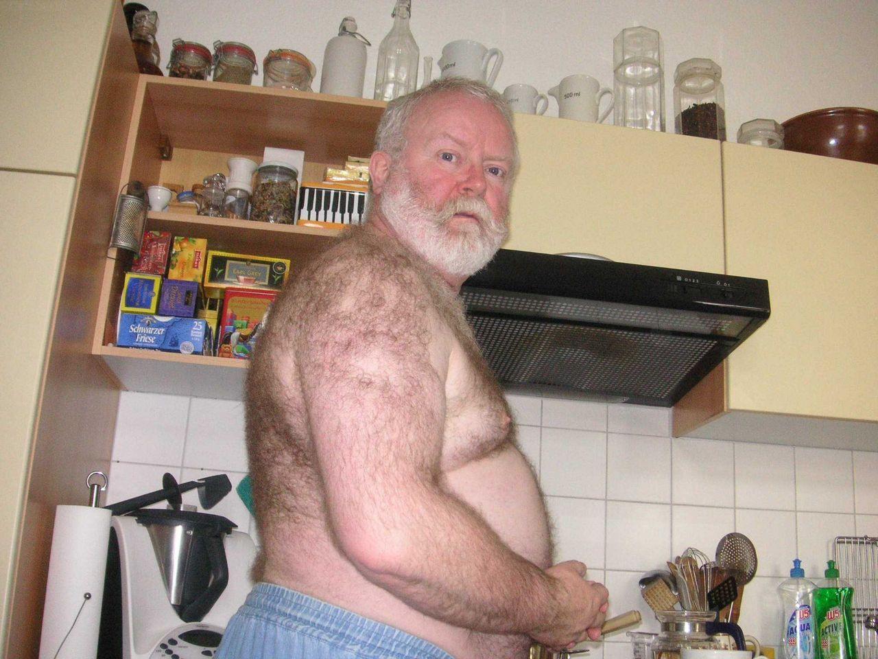 Hairy Grandpa 77