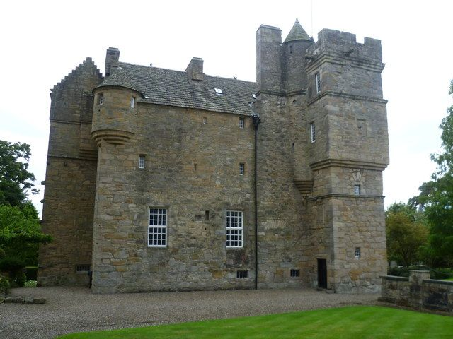 Fordell Castle, seat of Clan Henderson. Great-Grandmother's family who came to Jamestown Va in 1607.