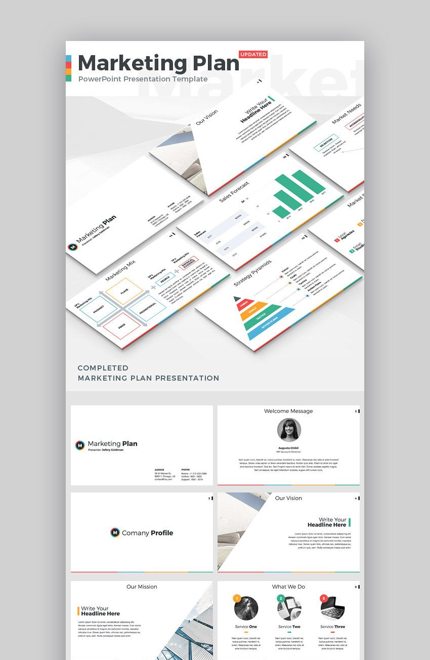 25 Marketing Powerpoint Templates Best Ppts To Present Your Plans