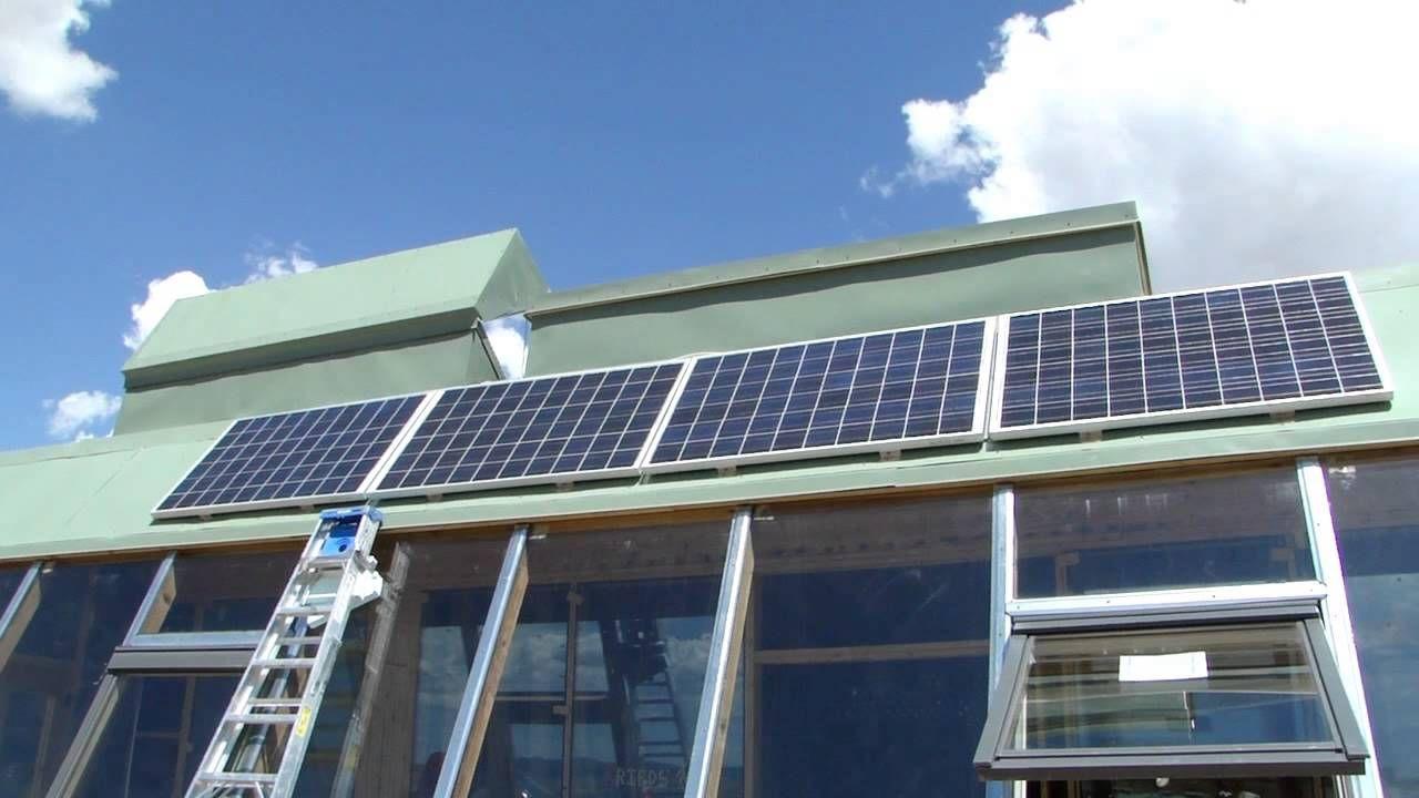 Solar Installation Pt 1 4 Schott 225w Panels Two Strings Solar Panels Solar Best Solar Panels