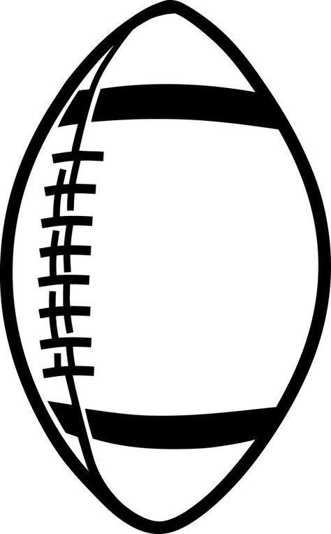 Football Outline Template - ClipArt Best Carter and August Room - outline template