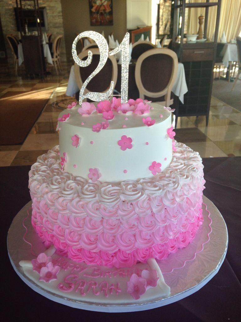 My daughters 21st birthday cake Tortas, Pasteles