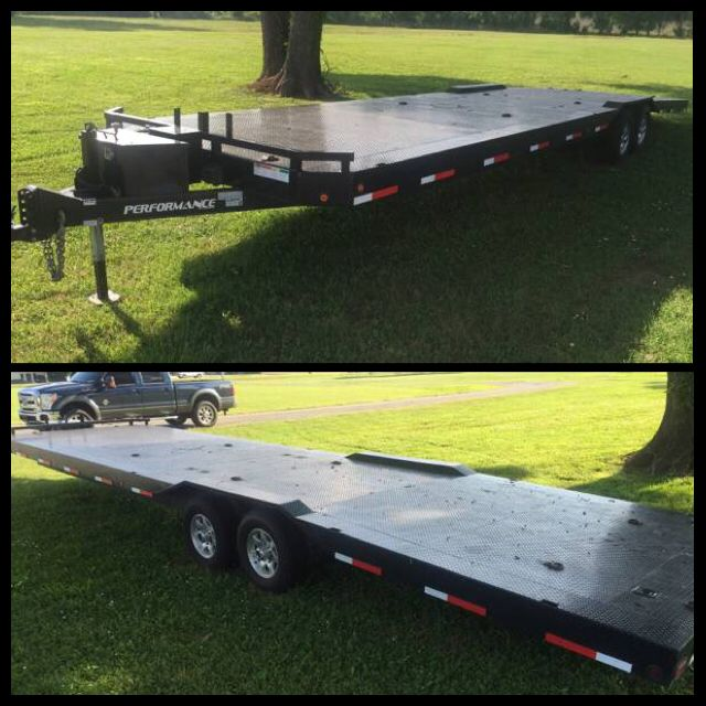 For Sale 2012 Parker Performance Bumper Pull Two Car Trailer