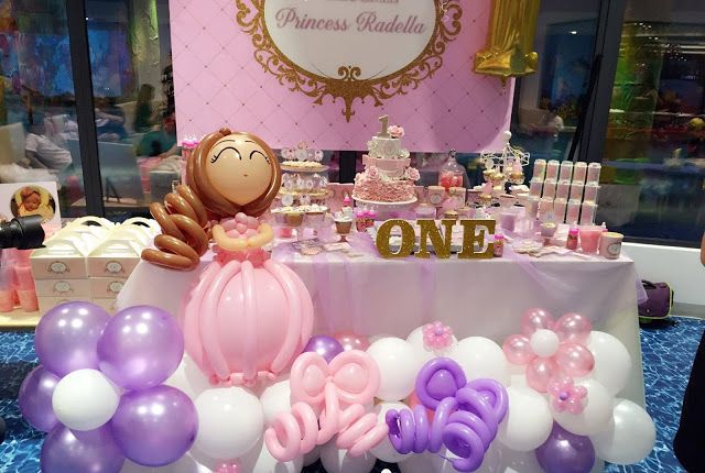 First Birthday Party Chennai Themes Princess Party Decorations