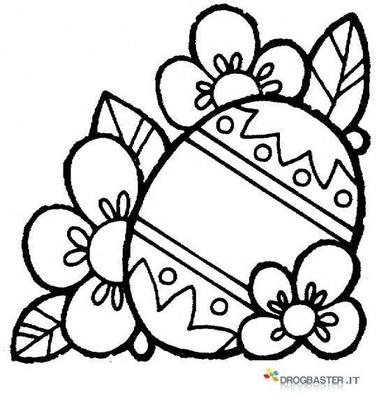 Colora E Stampare Gratis I Disegni Di Pasqua Conigli Uova Con