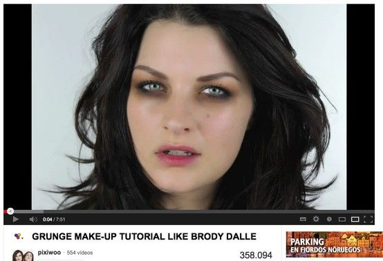 Pixiwoo Grunge Make Up Tutorial Like Brody Dalle Never Thought I D Find A Brody Dalle Tutorial Lo Best Makeup Tutorials Grunge Makeup Grunge Makeup Tutorial
