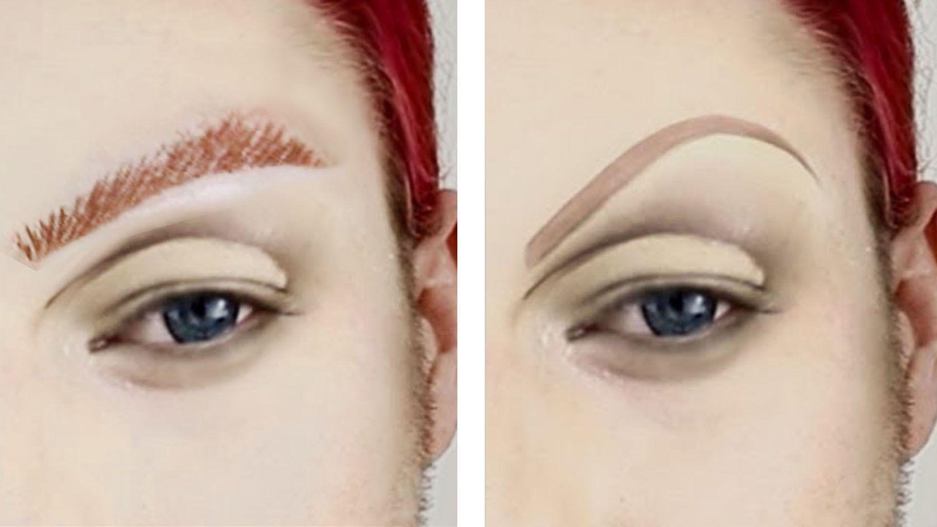 Drag Queen Eyebrow Tutorial Drag Queen Makeup