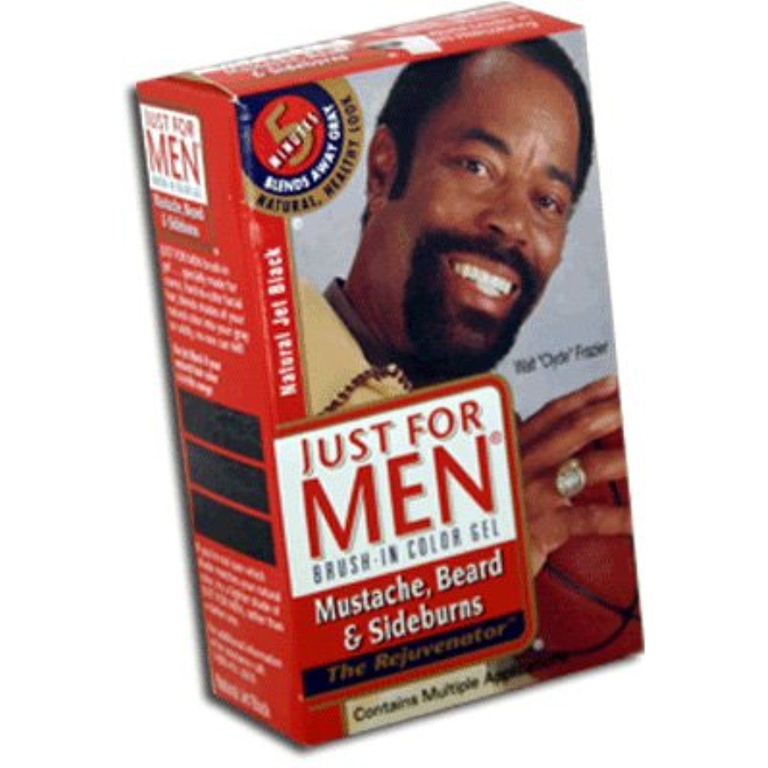 Just For Men Brush-In Color Gel for Mustache, Beard ...