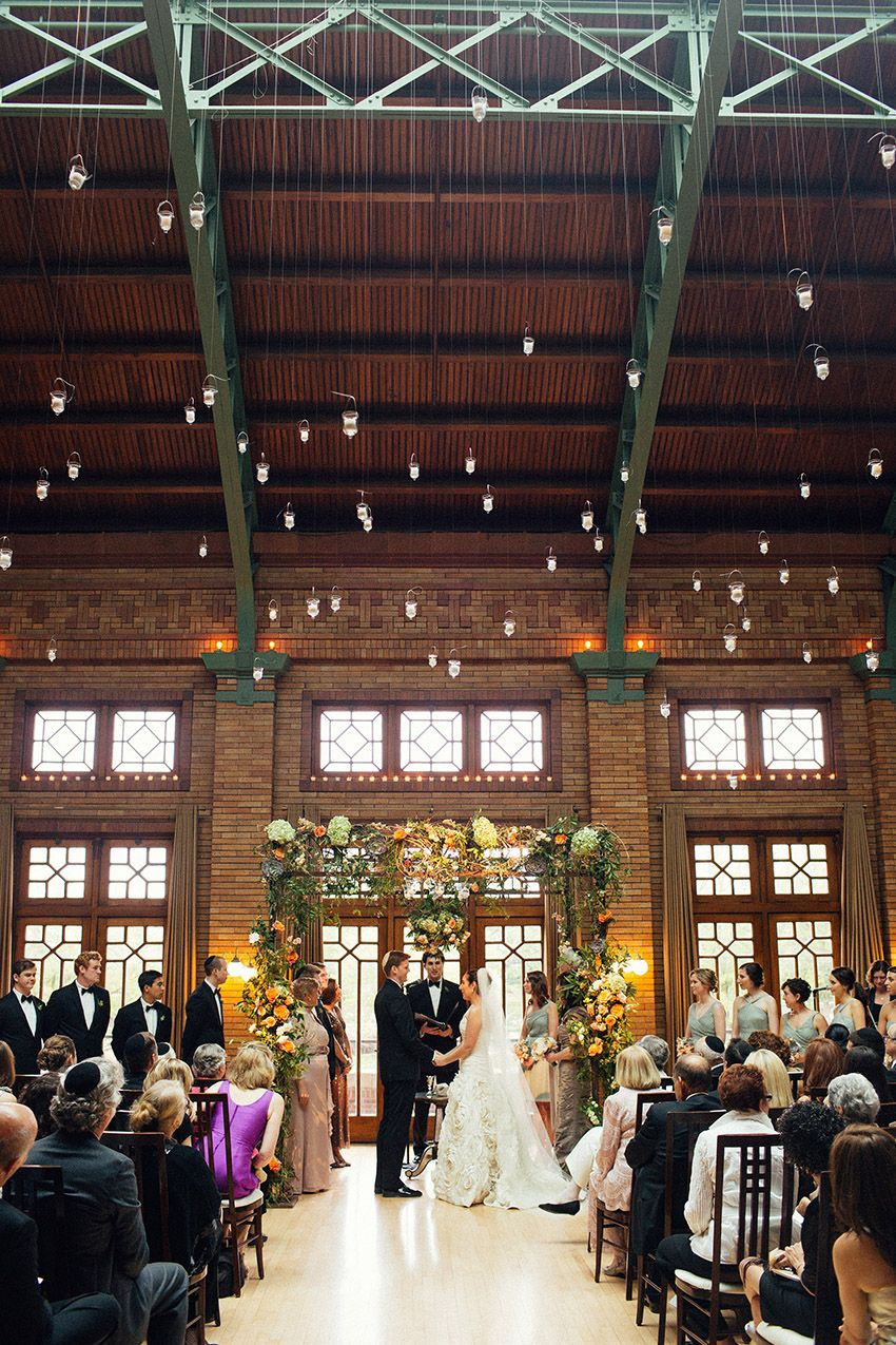 Cafe Brauer Wedding Ceremony Photos