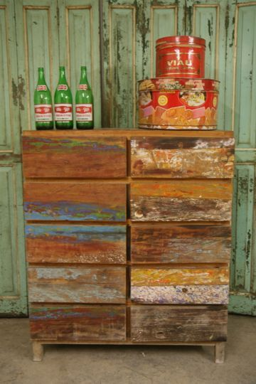 Chest Of Drawers From Reclaimed Fishing Boats – Sharland & Lewis