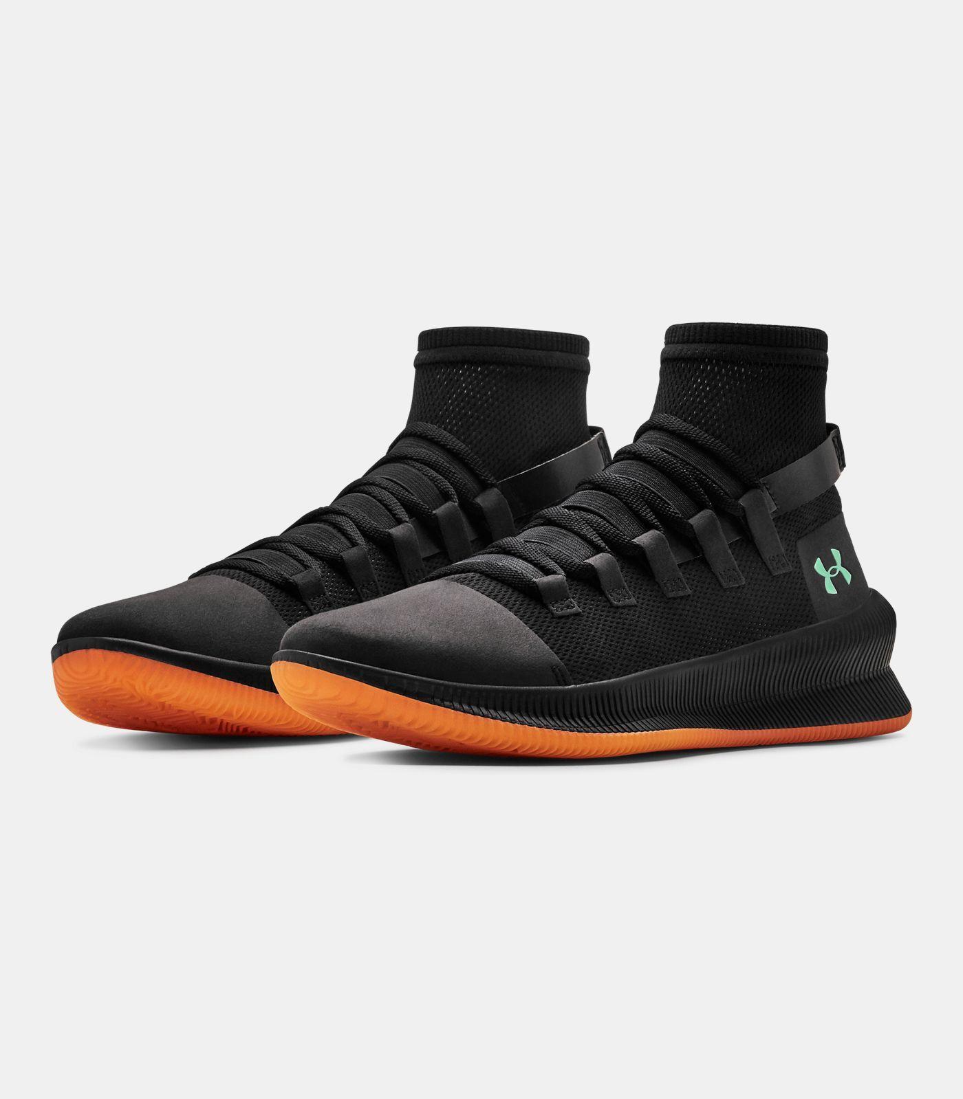 Men's UA MTAG Basketball Shoes, Black , Basketball