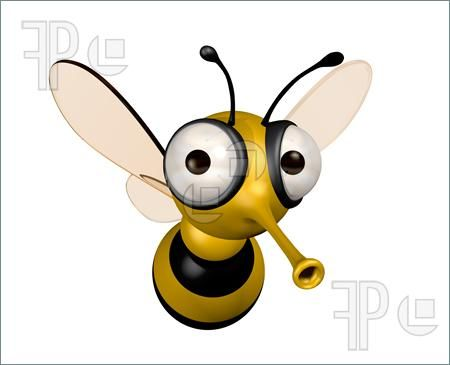 funny bee | Character design - bees in 2019 | Bee illustration, Bee
