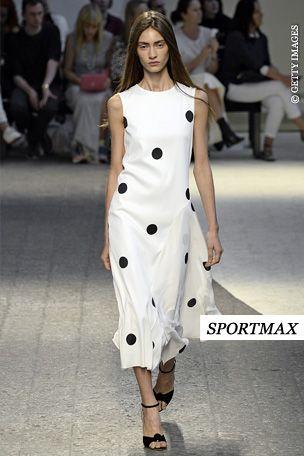 Sportmax Trend Report Summer 2014 Dalmatiner Dots