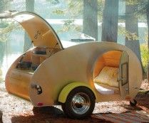 Vintage Teardrop Camping Trailers i've always wanted ones of these <3 <3