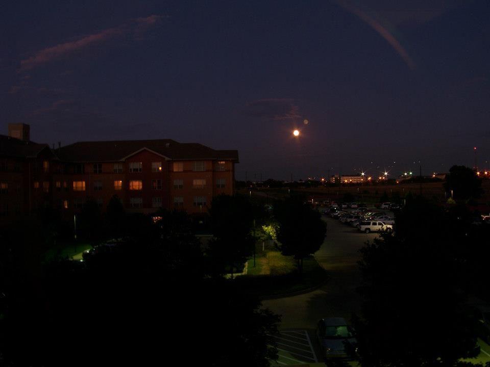 Moon at night.