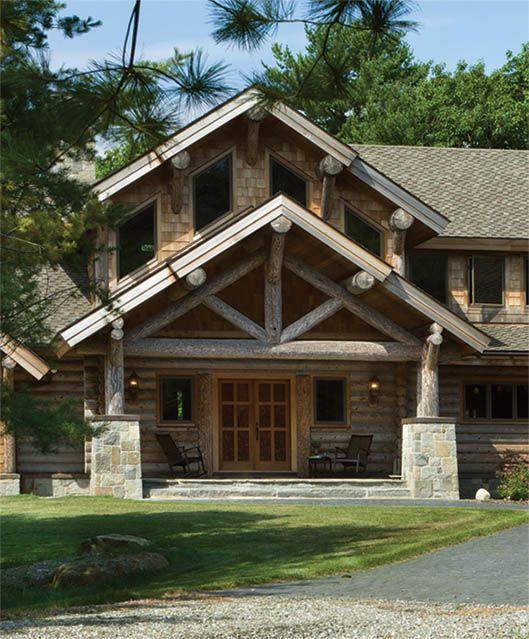 Log Cabin Designs Fryeburg Maine
