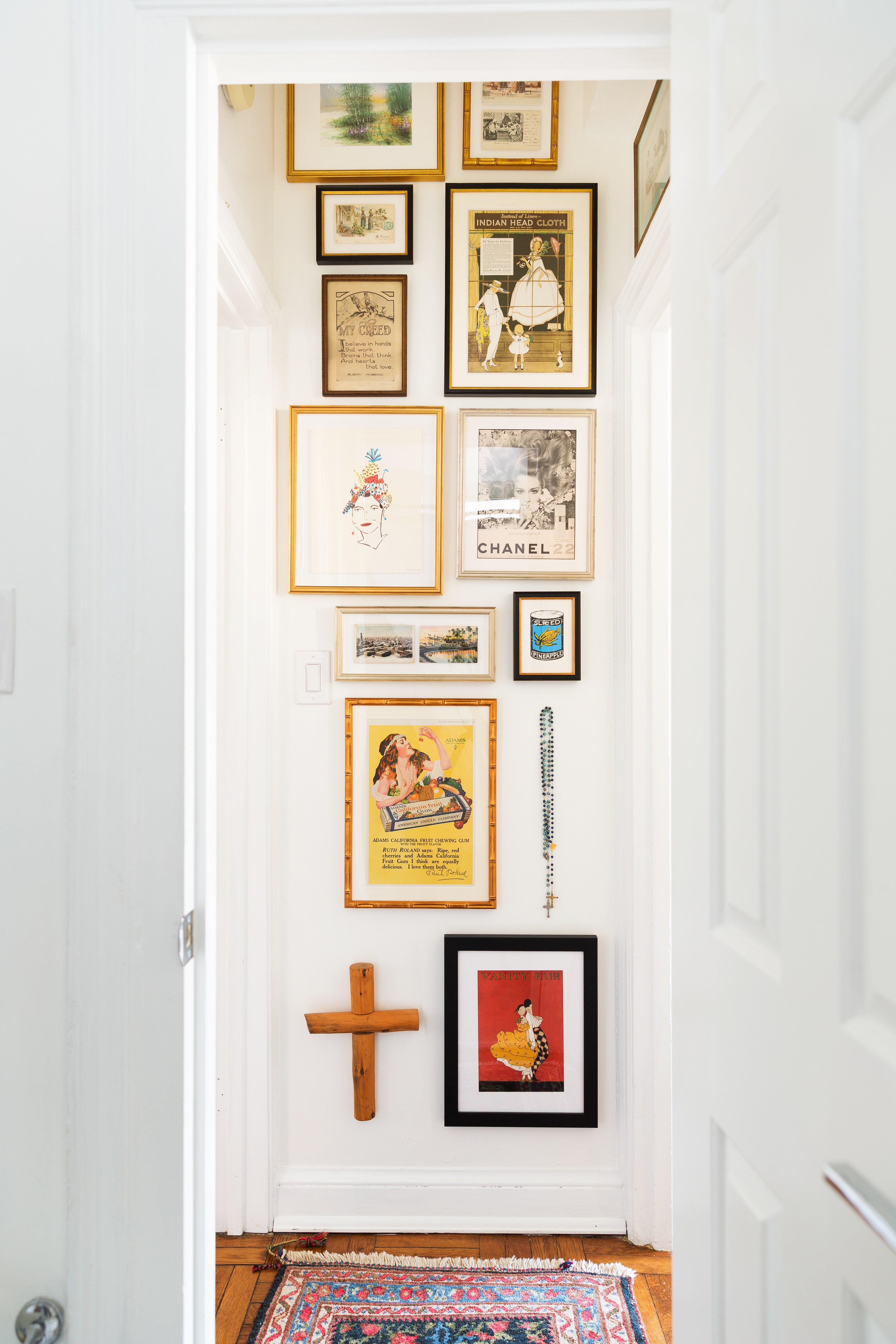 Five easy ways to design a gallery wall loft pinterest gallery
