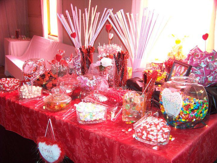 valentine wedding candy buffet key largo conch house tropical weddings pinterest. Black Bedroom Furniture Sets. Home Design Ideas
