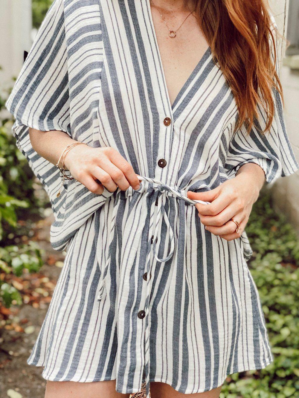 9fab918279a Karlie Stripe Crinkle Dress – Soca Clothing