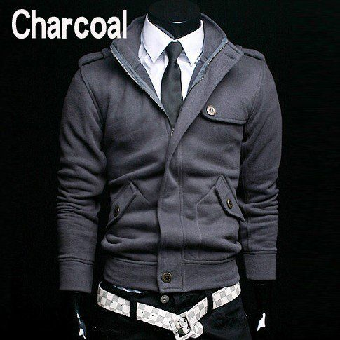Aliexpress.com : Buy Mens Casual Jacket High Collar Jacket Mens ...