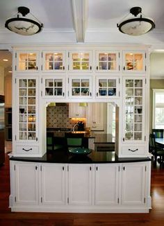 Dividing Kitchen And Dining Room