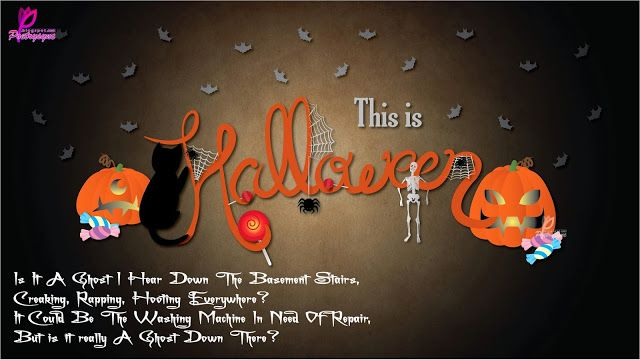 Poetry: Halloween Backgrounds Wallpapers and Wishes Cards with Children Poems #halloweenbackgroundswallpapers