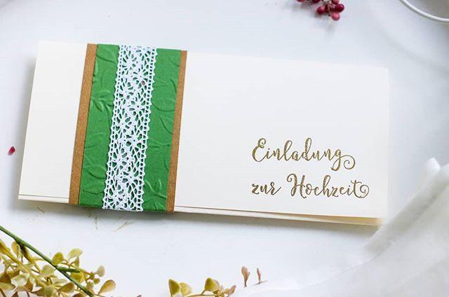 Einladung Für Eine Trachtenhochzeit #hochzeit #wedding #weddinginspiration  #weddinginvitation #tracht #trachtenhochzeit #hiebaum #unserekleinebastu2026