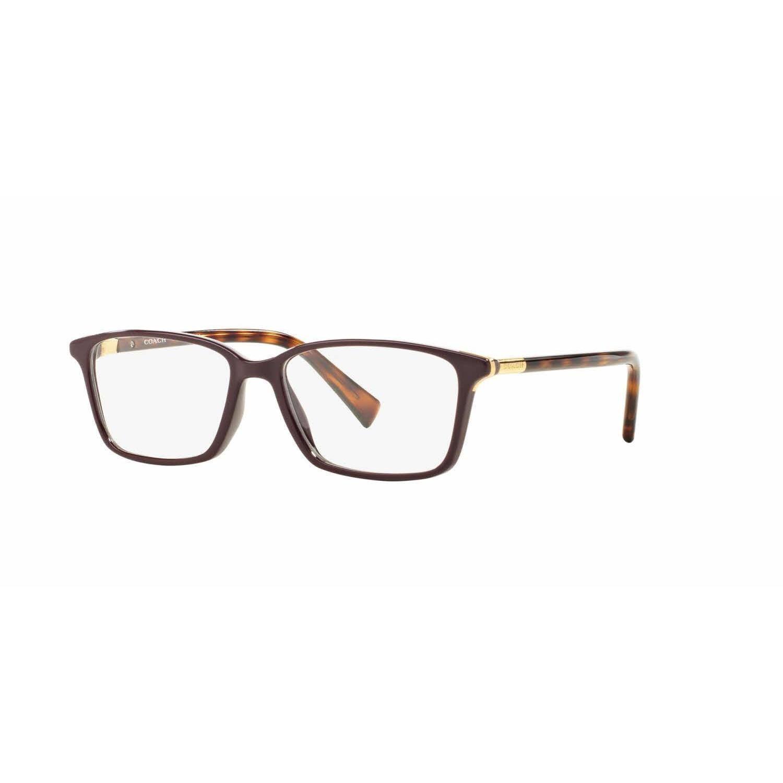 Coach Womens HC6077 5335 Violet Rectangle Eyeglasses | Cute! | Pinterest