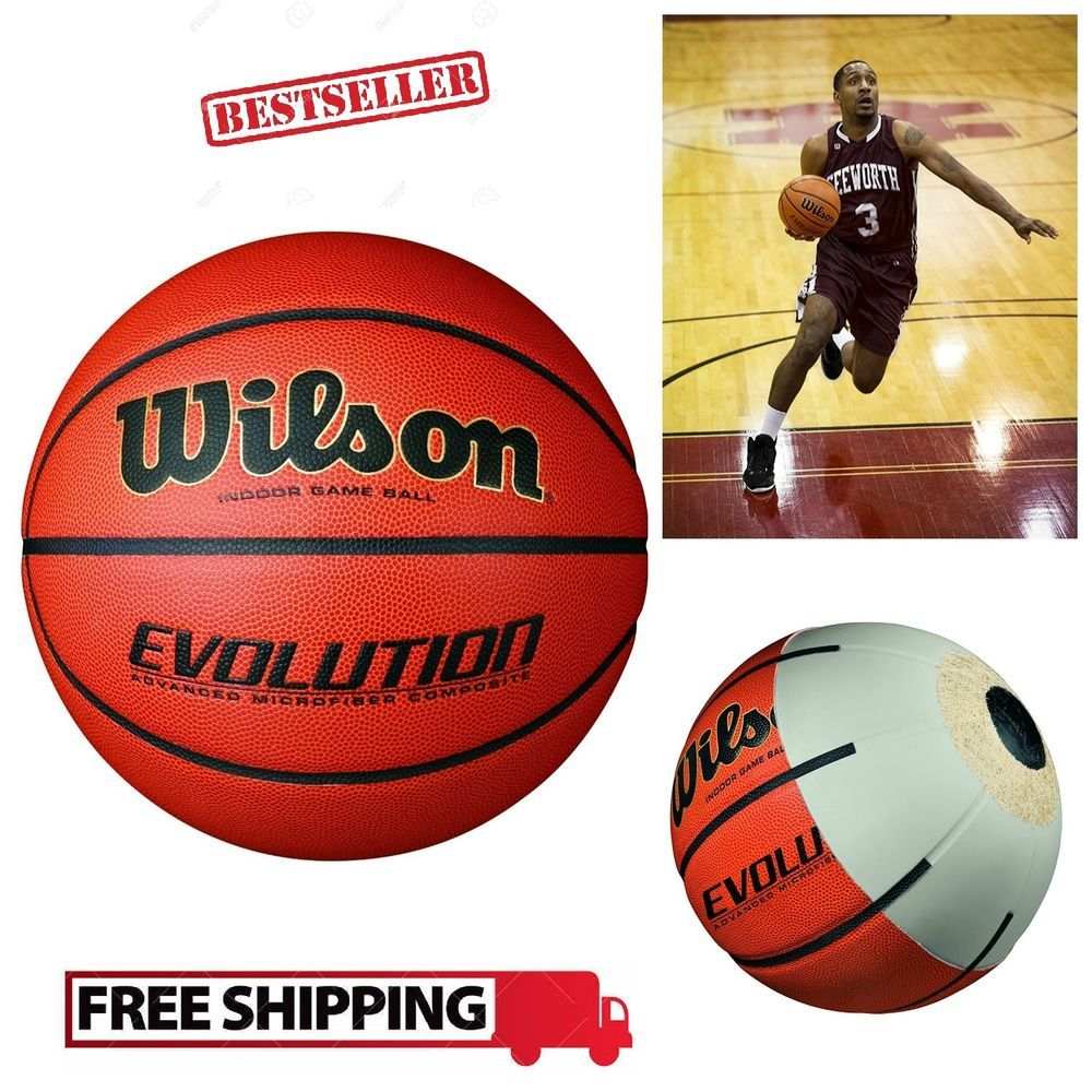 Basketball Ball Wilson Evolution Micro Pebble Touchpoints Regular Game Size 29 5 Wilson Basketball Basketball Ball Womens Basketball