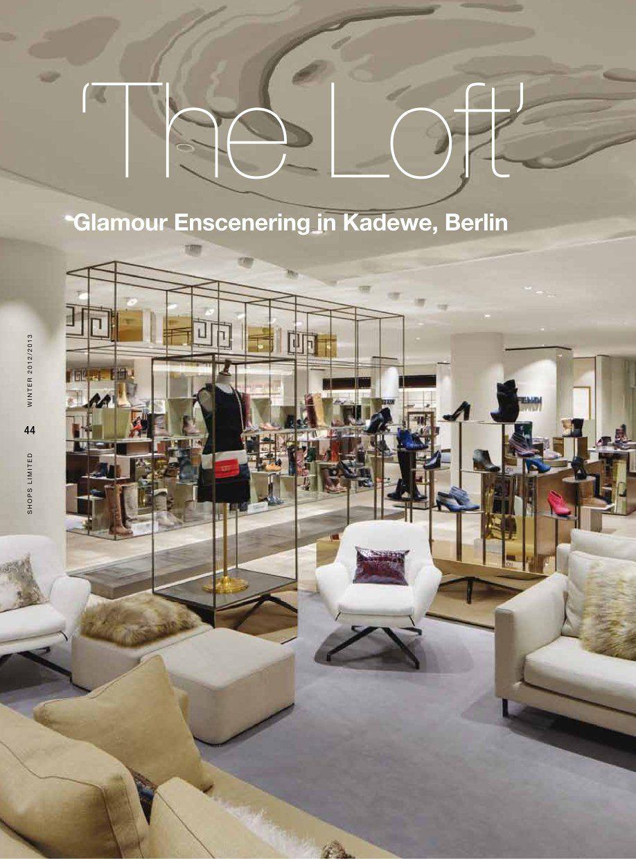 Kadewe berlin retail displays visual merchandising for Design shop berlin