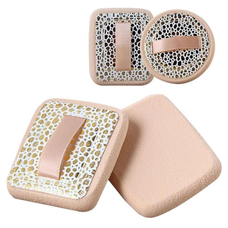 1Pc Natural Facial Cosmetic Sponge Foundation Contour Powder Puff Dry Wet Usage Sponge Makeup Tool Y1-5