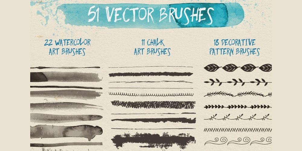 Free Brushes For Adobe Illustrator Vector brush, Vector