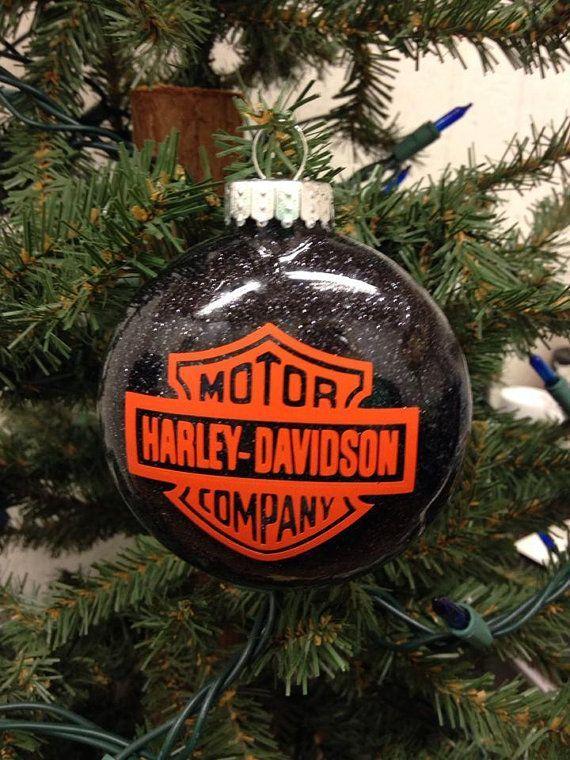 Holiday Christmas Tree Ornament Harley Davidson Motor Pany