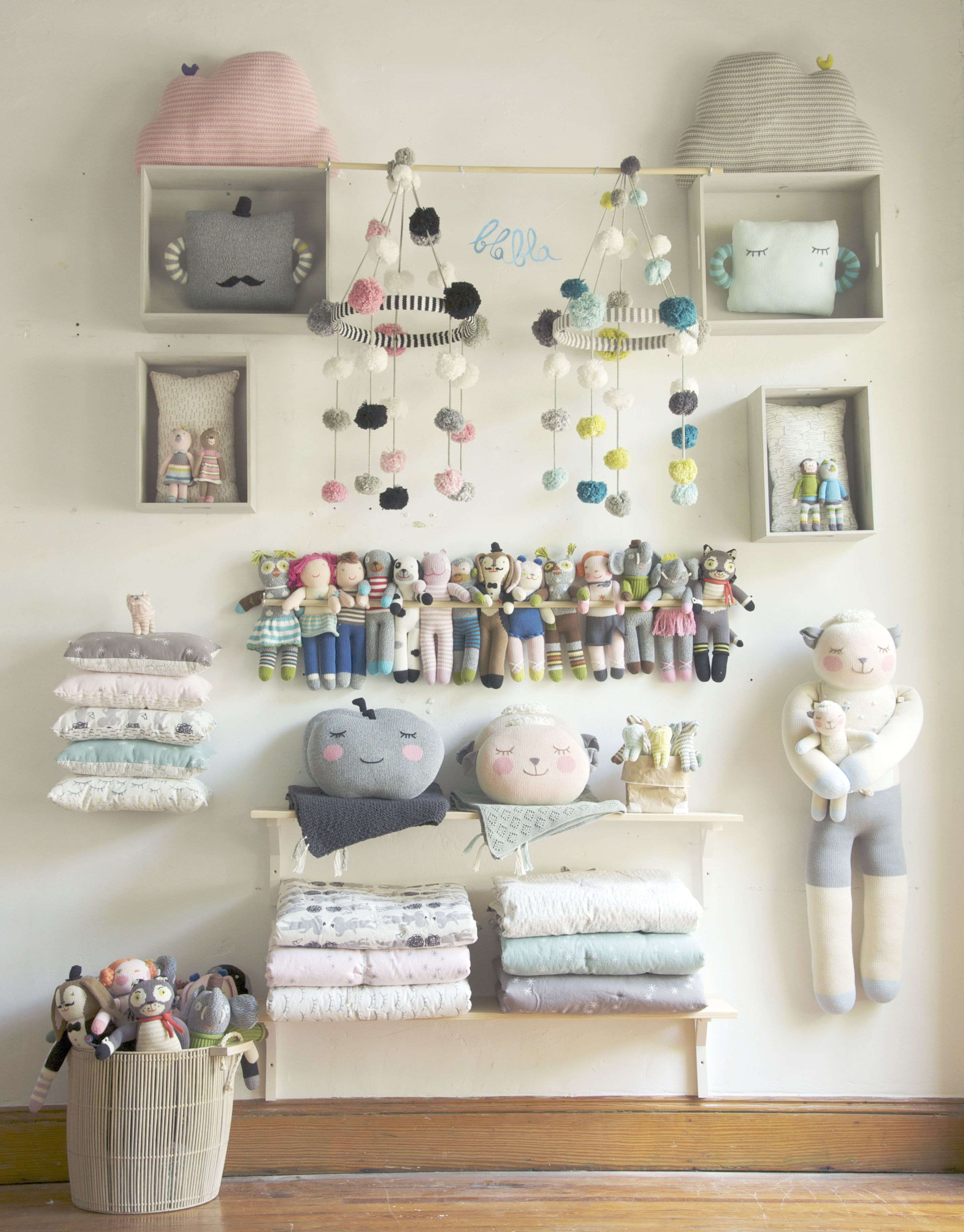 For a larger store purchase mix the knits with Petit Home items We