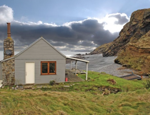 Tiny Coastal Cottage - This tiny coastal cottage was originally built in the 1920's and was used as a tearoom. A tearoom with a breathtaking view!   http://www.tinyhousewebsites.com