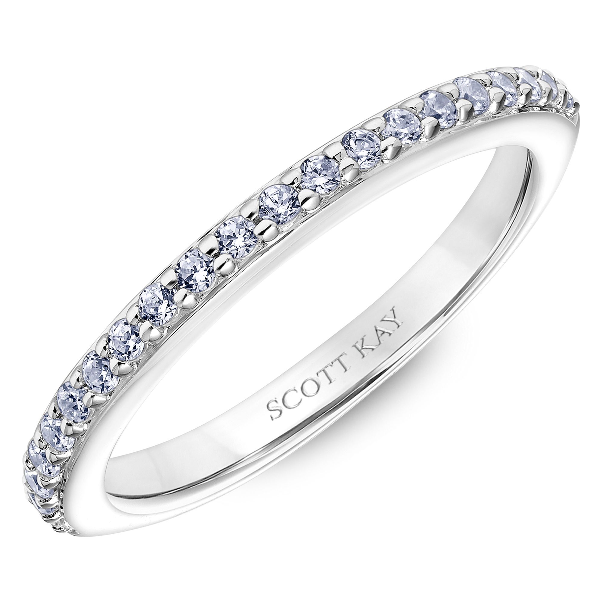 31SK6035PL Platinum diamond wedding band, Diamond