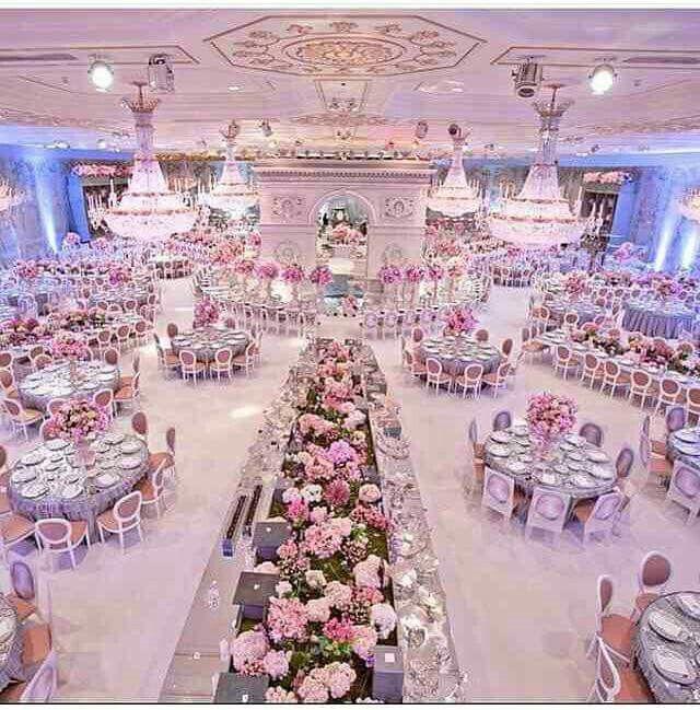 Indoor Wedding Ceremony Victoria Bc: Wedding Goals But In Lavender/ Black