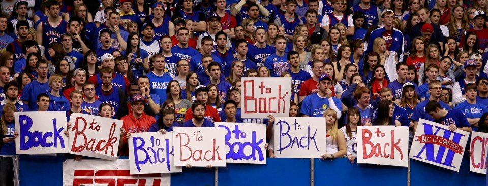 it's the most wonderful time of the year Rock chalk
