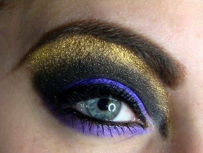 purple and antique gold