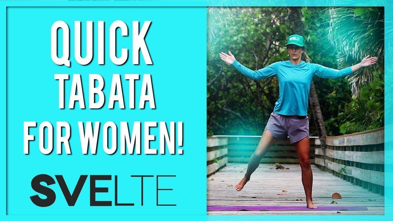 Quick Full Body Tabata Workout For Women (Feel the BURN!)